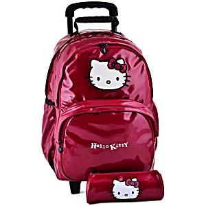 Рюкзак на колесах HELLO KITTY арт. HPR22080