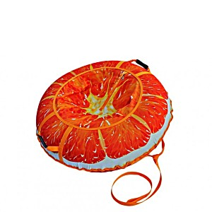 Тюбинг серия Дизайн Сочный Апельсин